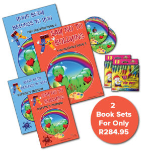 2 Title Set – Your Body Belongs To You & Say No To Bullying