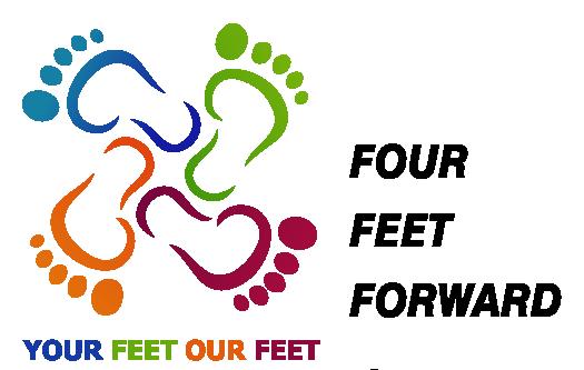 Four Feet Forward logo